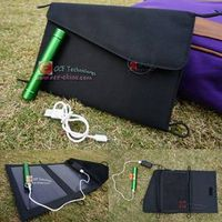 Solar Charger Backpack+Portable Flashlight Torch Outdoor thumbnail image