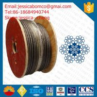 IPS,EIPS,EEIPS 6x19S-IWRC drilling wire rope