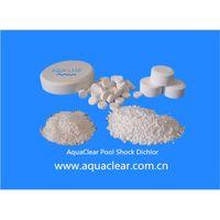 Sodium Dichloroisocyanurate (SDIC) Pool Shock 56% Granular/Tablet