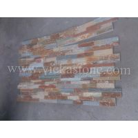 golden culture stone ledgestone wall panel