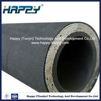 Stainless Steel Wire Spiral Reinforced Hydraulic Rubber Hose