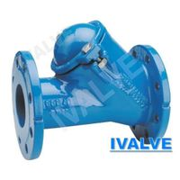 ball type check valve flange end