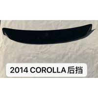 toyota 2014 corolla rear window visor