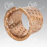 CHB-FB092 Monometallic Self-Lubricating Bimetal Bronze Bearing