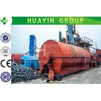 Tyre pyrolysis machine seller, xinxiang huayin with high credibility