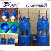 Titanium Heat Exchanger with PVC Shell