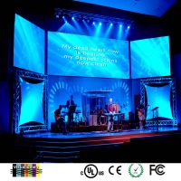 P4led screen full color led display stage rental screen advertising screen.