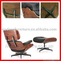 Lounge chair with ottoman thumbnail image