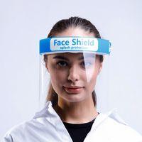 Anti- Splash and Splatter Safety Fluid Resistant Anti-Fog Transparent PET Face Shield thumbnail image
