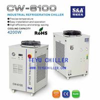 water cooled chiller for fabric cutting machine