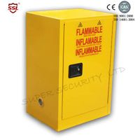 Vented Chemical Laboratory Flammable Liquid Storage Locker Cabinets SSM100012P