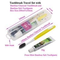 YUZMEI Wholesale Toothbrush Travel Kit Toothbrush Set With Toothpaste