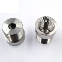 Stainless steel brass aluminum cnc lathe machine parts and components pdf drawings fabrication thumbnail image