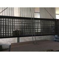 Concrete platform truck scale