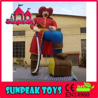R-004 The King Design Inflatable Cartoon