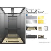 MRL Passenger Elevator Lift - E120 Fire rated door