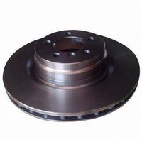 Automotive Brake Disc with Cast Iron, Used for Land Rover