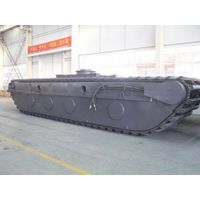 Undercarriage Pontoon of Amphibious Excavator ZD240