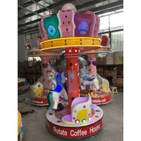 Kids Rides Indoor Amusement Park Coin Operated 3P Carousel thumbnail image