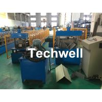 Color Steel Plate, Galvanized Steel Roof Ridge Valley Roll Forming Machine For Making Ridge Cap, Rid thumbnail image