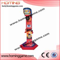 Super boxing simulator amusement game machine/used punching bag arcade machine for sale(hui@homingga