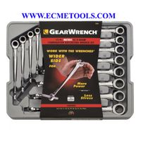 GearWrench Extra_Long XBeam Ratcheting Combination Wrenches_8mm_19mm_12.Pc. Metric Set_Model 85888 thumbnail image