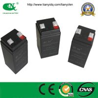 AGM standby ups battery 4v4ah VRLA  battery lead acid battery