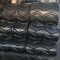 Wrapped Tires Rubber Tracks 55010578