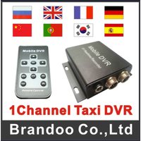 1 Channel HD Mini DVR for Car or Home CCTV Security Support 64G SD Card