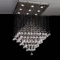 Chinese top crystal LEDpendant light/lamp  crystal chandelier 8013-9 thumbnail image