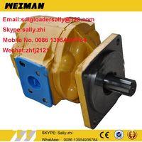 original 50C hydrauli steering pump, 11C0009, 11C0009P01, 11C0009P02  in yellow colour for liugong w thumbnail image