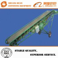 Flexible portable/mobile belt conveyor for food transporting from China