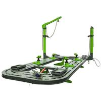 tubular table tilt deck straightening bench system for sever damage vehicle repair thumbnail image