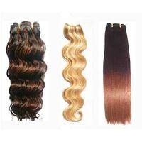 human hair weaving/weave/weft