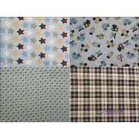 cotton print flannel for child