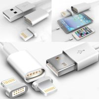 High Quality Android General Charging Cable Nylon 2 In 1 Magnetic Charging Usb Cable For IPhone