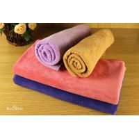 Pure bamboo small square  towel
