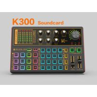 K300Live Sound Card Audio External USB Headset Multi-Function Microphone Live Broadcast Computer PC thumbnail image