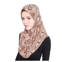 Beautiful Pattern Soft Muslim Hijab Head Cover Scarf thumbnail image