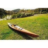 wooden kayak full of sizes