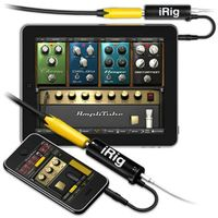 IK Multimedia AmpliTube iRig Guitar Effects Amplifier for iPhone iPad iPod touch Color Box Pack  Hig
