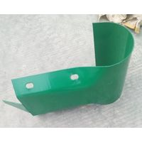 Highway Guardrail Terminal End