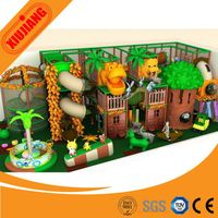 Attractive amusement Jungle theme small used indoor children playground on sale