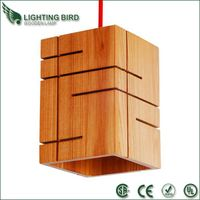 New Style Room Wooden Pendant Lamp(LBMP-MF)