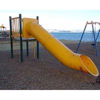Fiberglass slide round