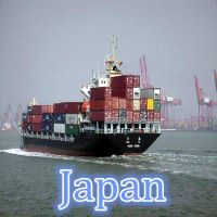 Sea freight shipping to Japan from Guangzhou/Shenzhen ,China