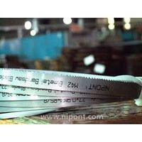 Band saw blade for metal cutting m42