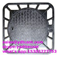 cast iron manhole cover double seal dia675mm heavy duty