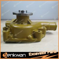 PC130-7 Excavator engine 4D95 water pump