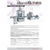 Auto bottle filling-capping-labeling machine